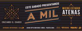 """Cruzando el Charco Presenta """"A Mil"""" en Atenas"""