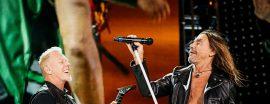 James Hetfield e Iggy Pop, juntos en México (Ross Halfin)
