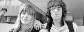 Keith Richards y Anita Pallenberg