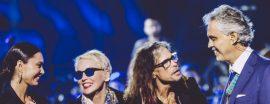 Steven Tyler y Andrea Bocelli
