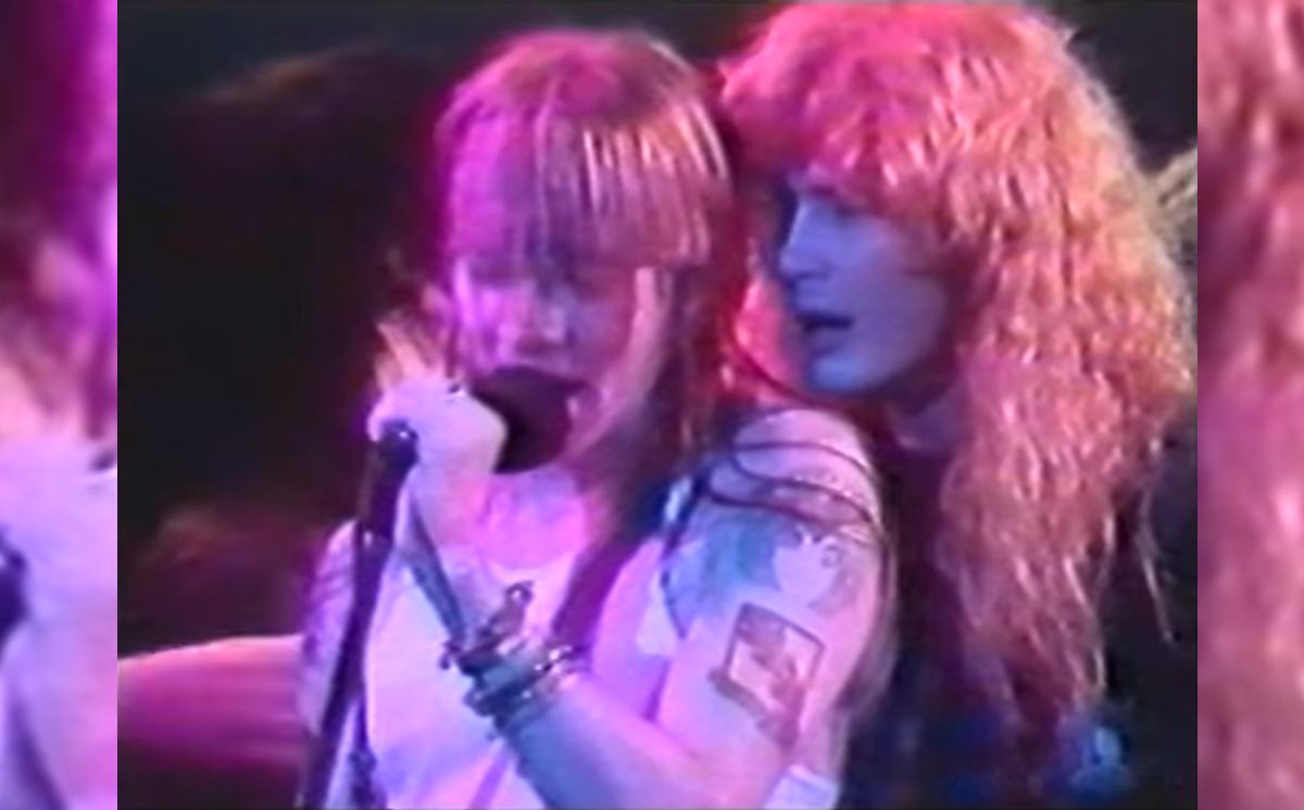 Mustaine y Guns N Roses