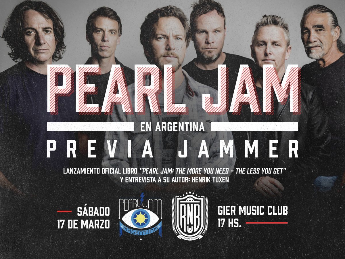 Pearl Jam -Previa Jammer