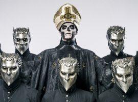 """Ghost presenta al nuevo """"Papa Emeritus"""""""