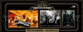 Solid Rock 2018: Judas Priest y Alice In Chains