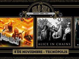 Solid Rock 2018: Judas Priest y Alice In Chains