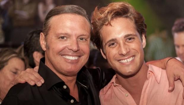 Luis Miguel y Diego Boneta