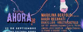 Festival Ahora 3era edición - Dom 23 Sep