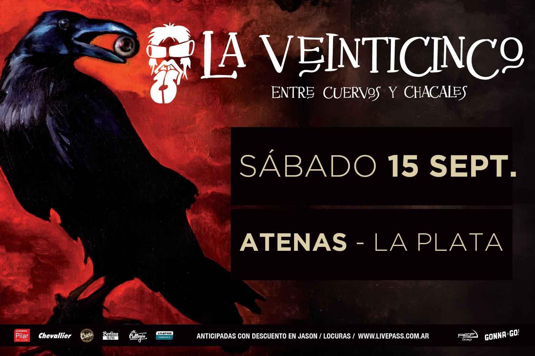 """La 25 presenta """"Entre Cuervos y Chacales"""""""