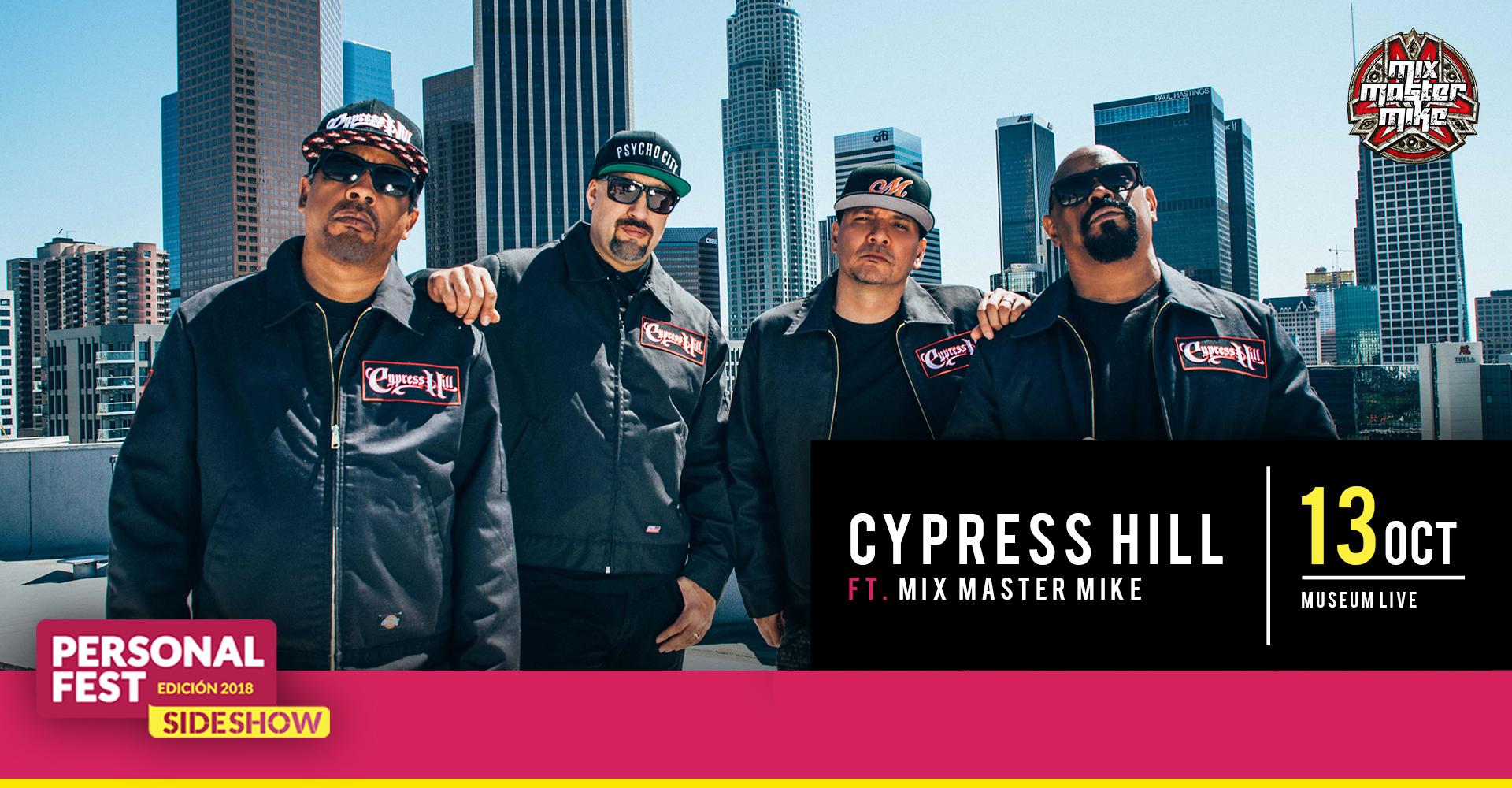 Cypress Hill en Museum