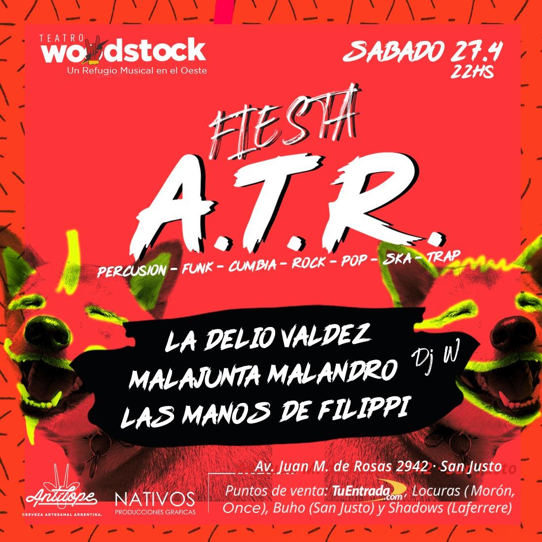 Fiesta ATR Woodstockl