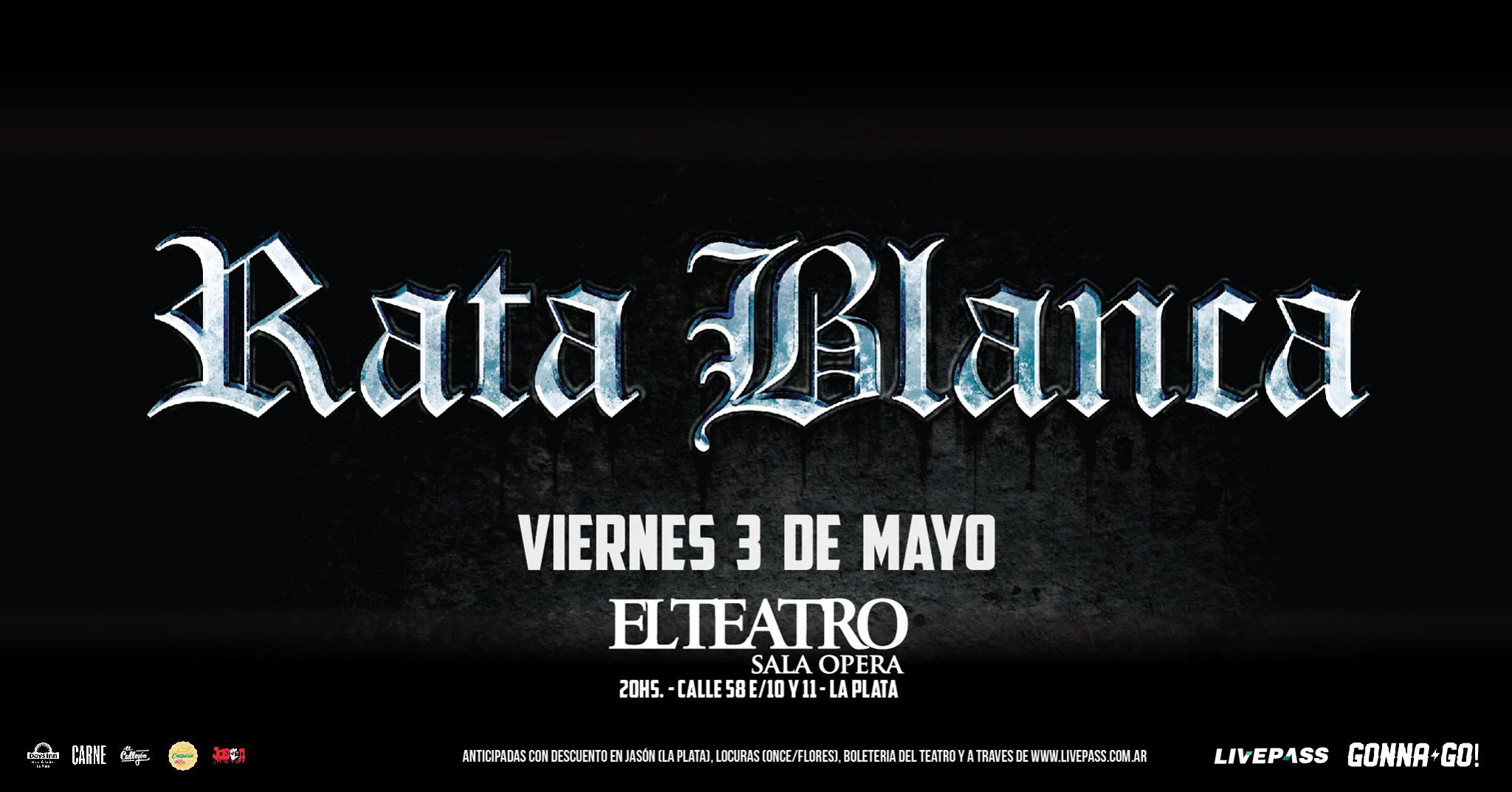 Rata Blanca en La Plata