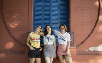 Lau, Jime y Dalia. (Foto: Azul Zorraquin)