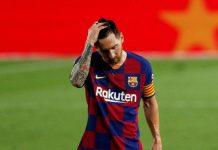 La relación Messi- Barcelona en su peor momento. Foto: Reuters