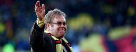 Elton John, el capo del Watford (AFP)