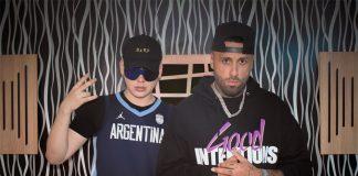 """""""El Biza"""" y Nicky Jam"""